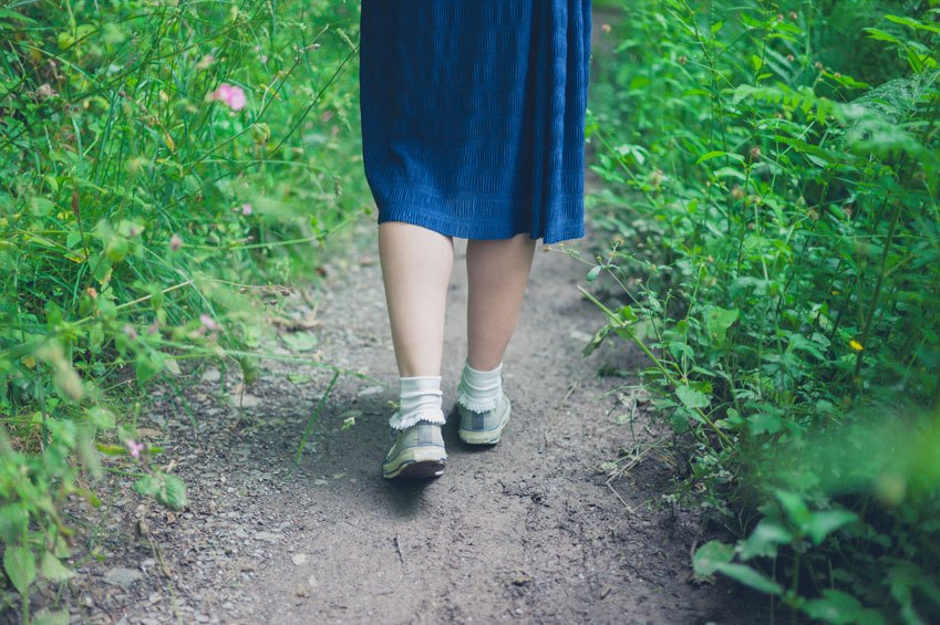 How to do a walking meditation