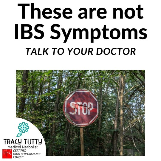 These Symptoms Are Not IBS
