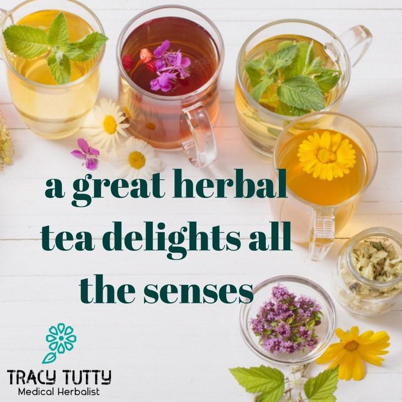 How to blend a tasty herbal tea