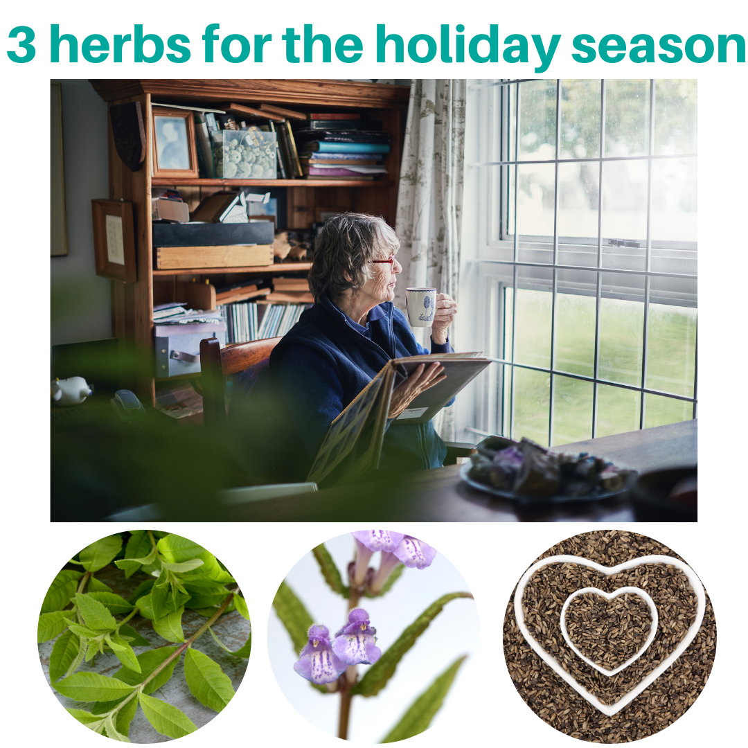 Three Herbs for Holiday Wellness
